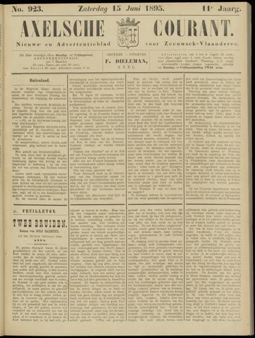 Axelsche Courant 1895-06-15