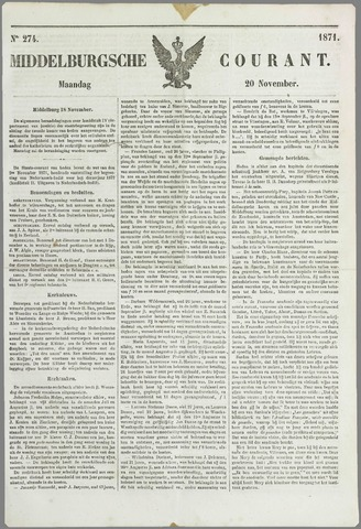 Middelburgsche Courant 1871-11-20