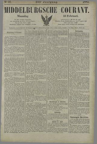 Middelburgsche Courant 1882-02-13
