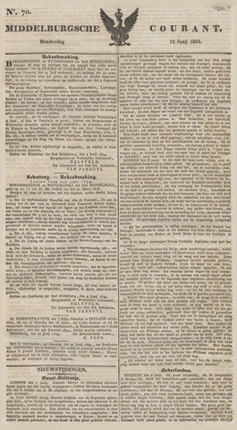 Middelburgsche Courant 1834-06-12