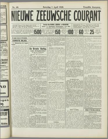Nieuwe Zeeuwsche Courant 1916-04-01