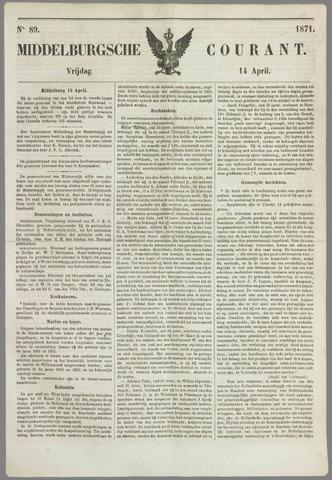 Middelburgsche Courant 1871-04-14