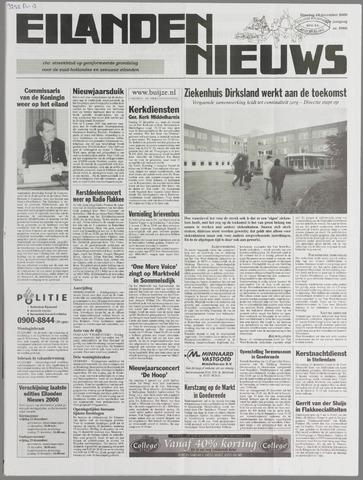 Eilanden-nieuws. Christelijk streekblad op gereformeerde grondslag 2000-12-19