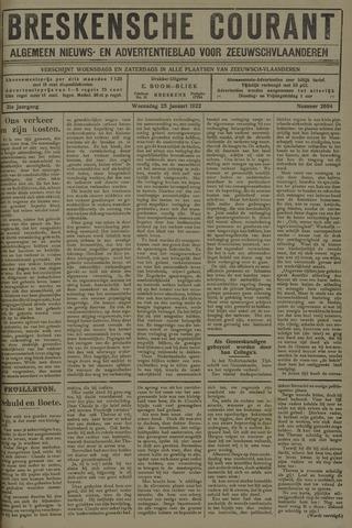 Breskensche Courant 1922-01-25