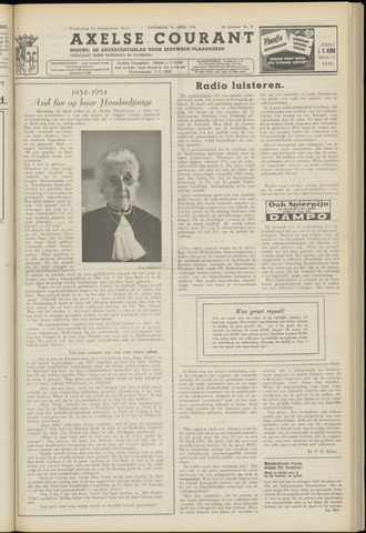 Axelsche Courant 1954-04-10