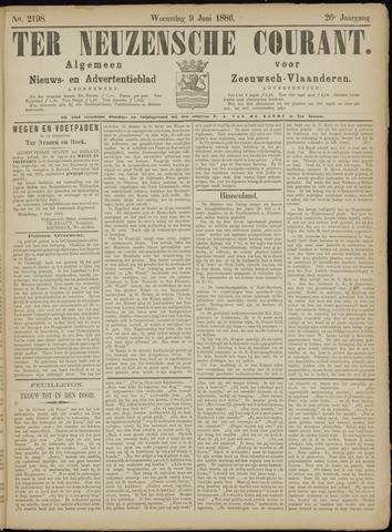 Ter Neuzensche Courant. Algemeen Nieuws- en Advertentieblad voor Zeeuwsch-Vlaanderen / Neuzensche Courant ... (idem) / (Algemeen) nieuws en advertentieblad voor Zeeuwsch-Vlaanderen 1886-06-09