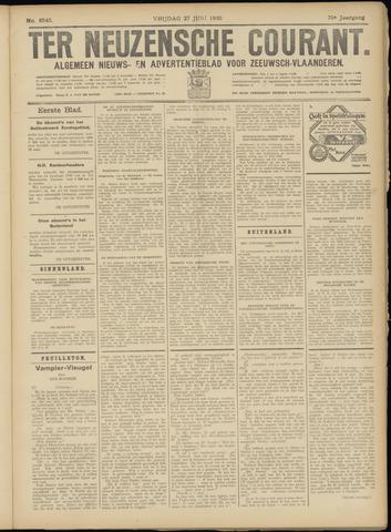 Ter Neuzensche Courant. Algemeen Nieuws- en Advertentieblad voor Zeeuwsch-Vlaanderen / Neuzensche Courant ... (idem) / (Algemeen) nieuws en advertentieblad voor Zeeuwsch-Vlaanderen 1930-06-27