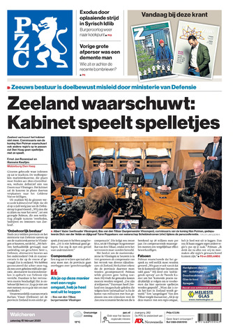 Provinciale Zeeuwse Courant 2020-02-15