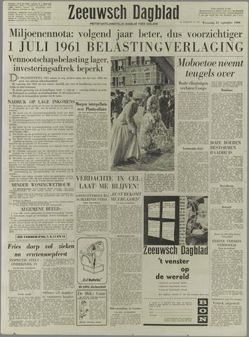 Zeeuwsch Dagblad 1960-09-21