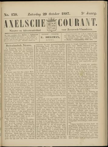 Axelsche Courant 1887-10-29