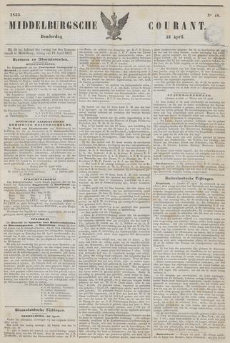 Middelburgsche Courant 1853-04-21