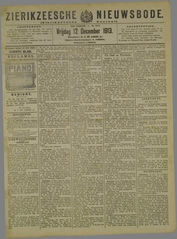 Zierikzeesche Nieuwsbode 1913-12-12