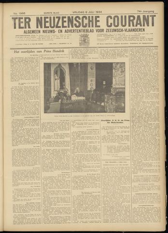 Ter Neuzensche Courant. Algemeen Nieuws- en Advertentieblad voor Zeeuwsch-Vlaanderen / Neuzensche Courant ... (idem) / (Algemeen) nieuws en advertentieblad voor Zeeuwsch-Vlaanderen 1934-07-06