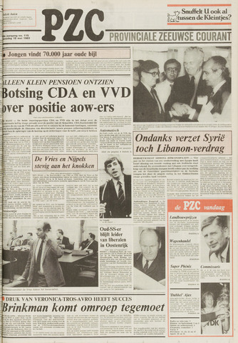 Provinciale Zeeuwse Courant 1983-05-18