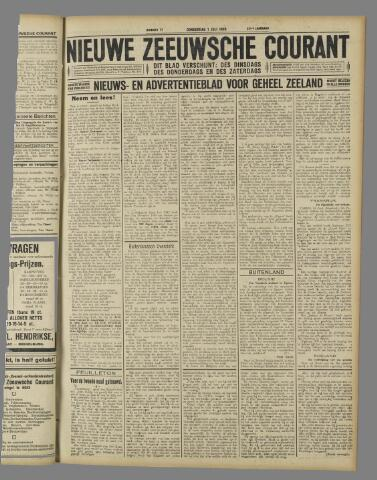 Nieuwe Zeeuwsche Courant 1926-07-01