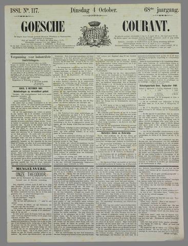 Goessche Courant 1881-10-04