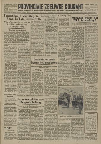 Provinciale Zeeuwse Courant 1948-02-17