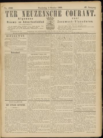 Ter Neuzensche Courant. Algemeen Nieuws- en Advertentieblad voor Zeeuwsch-Vlaanderen / Neuzensche Courant ... (idem) / (Algemeen) nieuws en advertentieblad voor Zeeuwsch-Vlaanderen 1906-10-04