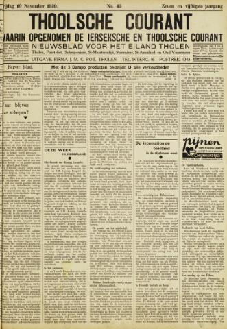 Ierseksche en Thoolsche Courant 1939-11-10