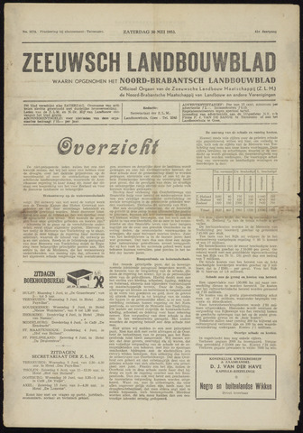 Zeeuwsch landbouwblad ... ZLM land- en tuinbouwblad 1953-05-30