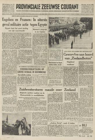 Provinciale Zeeuwse Courant 1956-07-30