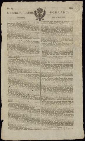 Middelburgsche Courant 1814-11-03