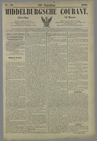 Middelburgsche Courant 1888-03-31