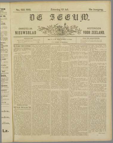 De Zeeuw. Christelijk-historisch nieuwsblad voor Zeeland 1901-07-13
