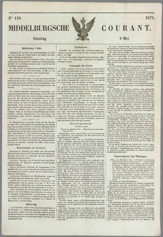 Middelburgsche Courant 1871-05-09