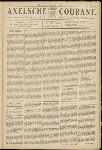 Axelsche Courant 1937-04-23