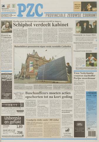Provinciale Zeeuwse Courant 1997-11-27
