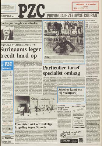 Provinciale Zeeuwse Courant 1987-02-21