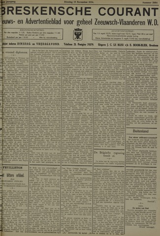 Breskensche Courant 1934-11-13