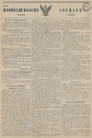Middelburgsche Courant 1853-01-04