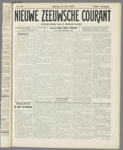 Nieuwe Zeeuwsche Courant 1907-07-16