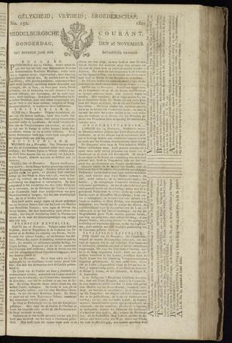 Middelburgsche Courant 1801-11-26