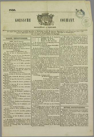 Goessche Courant 1850-01-10