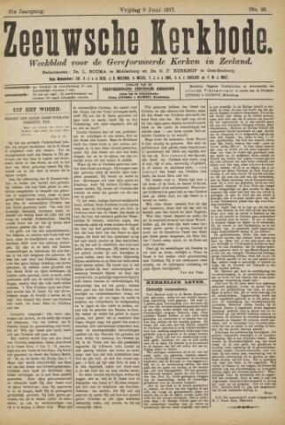 Zeeuwsche kerkbode, weekblad gewijd aan de belangen der gereformeerde kerken/ Zeeuwsch kerkblad 1917-06-08