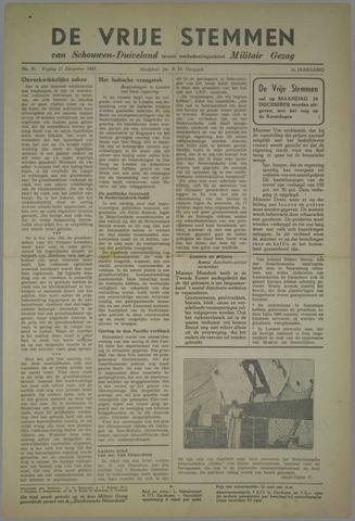 Vrije Stemmen van Schouwen-Duiveland, tevens mededeelingenblad Militair Gezag 1945-12-21