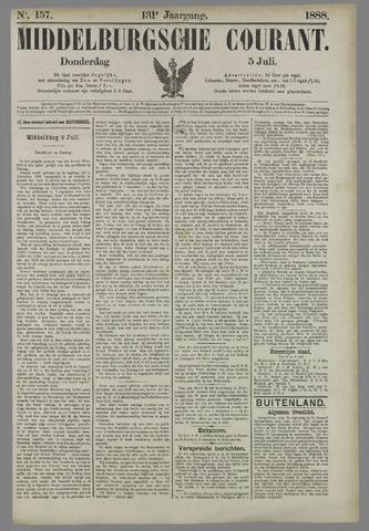 Middelburgsche Courant 1888-07-05