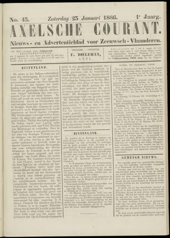 Axelsche Courant 1886-01-23