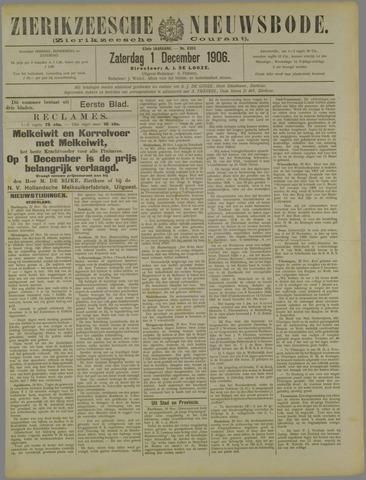Zierikzeesche Nieuwsbode 1906-12-01