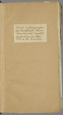 Zierikzeesche Nieuwsbode 1845