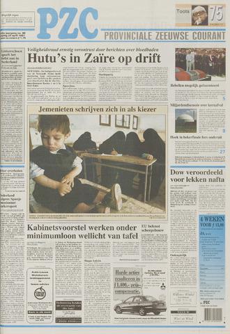 Provinciale Zeeuwse Courant 1997-04-25