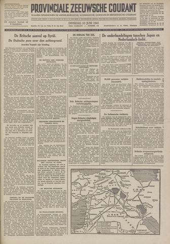 Provinciale Zeeuwse Courant 1941-06-10