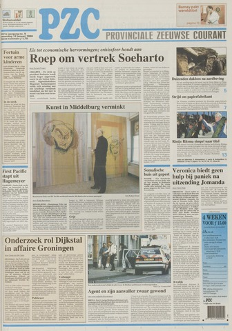 Provinciale Zeeuwse Courant 1998-01-12