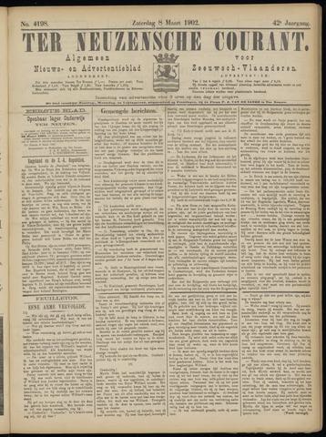 Ter Neuzensche Courant. Algemeen Nieuws- en Advertentieblad voor Zeeuwsch-Vlaanderen / Neuzensche Courant ... (idem) / (Algemeen) nieuws en advertentieblad voor Zeeuwsch-Vlaanderen 1902-03-08