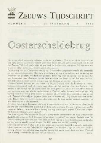 Zeeuws Tijdschrift 1965-11-01
