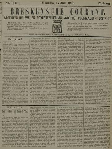 Breskensche Courant 1908-06-17