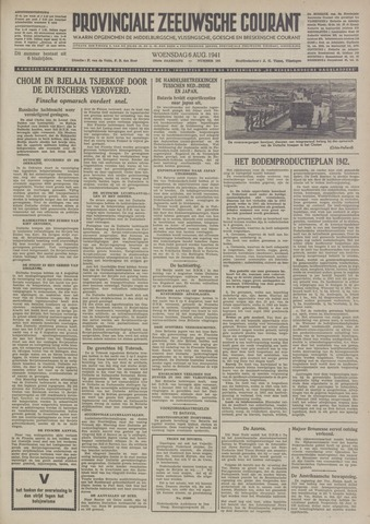Provinciale Zeeuwse Courant 1941-08-06
